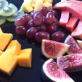 Assortment of fresh seasonal fruit