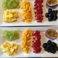 Seasonal fresh fruit platters