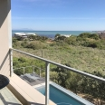 overlooking False Bay, Table Mountain in distance