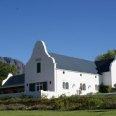 restored barn; now fabulous restaurant in Stellenbosch